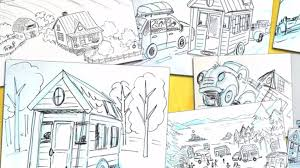 Tiny House Cartoon Tiny House Book For Children Kickstarter Needs Your Help