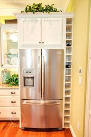 how to make your fridge look like a cabinet how to build a refrigerator cabinet kitchen cabinets refrigerator