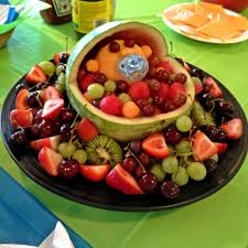 edible fruit arrangement ideas baby shower fruit arrangement diy s baby shower
