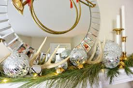 life with a dash of whimsy get the look glam christmas mantel