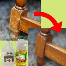 How To Remove Oil Stains From Wood Cabinets Naturally Repair Wood With Vinegar And Canola Oil Canola Oil