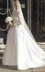 valentino wedding dresses nicky marries rothschild in valentino wedding dress