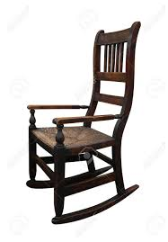 Wooden Rocking Chair Old Wooden Rocking Chair Stock Photo Picture And Royalty Free