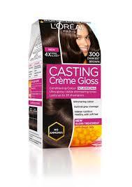 Satin Hair Color Chart Buy L U0027oreal Paris Casting Creme Gloss Darkest Brown 300 87 5g