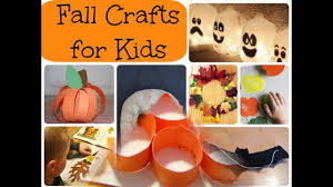 easy diy fall kids crafts project ideas youtube