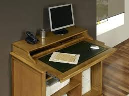bureau informatique en bois meuble informatique bois massif petit bureau informatique en chane