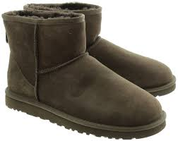 ugg boots sale paypal ugg mini ankle boots in chocolate in chocolate