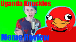Meme Deutsch - uganda knuckles do you know the way meme review meme erklärt