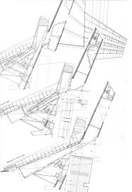 maps the architectural plan as a map drawings by enric