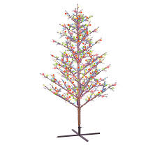 the best shop ge ft prelit winterberry artificial tree