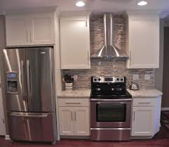 Kitchen No Backsplash Scandanavian Kitchen Beautiful Without Backsplash Including Make