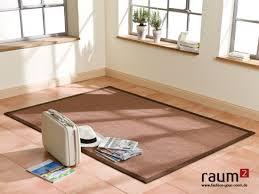 teppich sisal sisal teppich astra manaus braun 65 in 250 x 300 cm amazon de