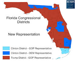 Port St Lucie Fl Map How Florida U0027s Congressional Districts Voted And The Impact Of