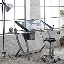 Amazoncom Studio Designs Futura Drafting Table And Chair Set - Designer drafting table
