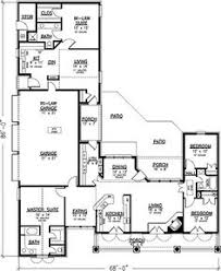 house plans with separate apartment this well designed multi unit design with a ranch style structure
