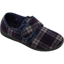 slippers mens clothing accessories big w grosby mens memory foam slippers dark red