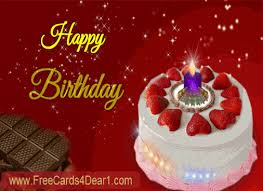 happy birthday animated e greeting card send this beautiful