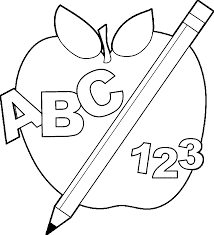 discover back to apple images coloring page abc 123