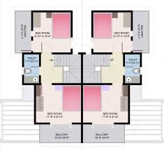 row home plans small row house floor plans adhome