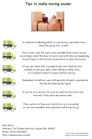 easy move u0027s blog page for tips by our corporate movers in dayton oh