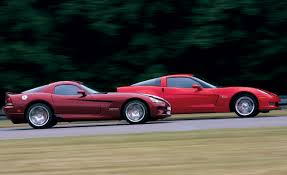 corvette vs viper 2008 dodge viper srt10 vs 2007 chevrolet corvette z06