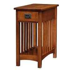 Woodworking Plans Bedside Table by Side Table Cappuccino Shaker Mission Side End Table 14900
