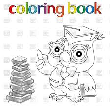 coloring incredible owl coloring book image ideas with in
