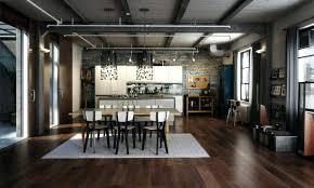 cuisine style loft table salle a manger style loft table repas with table cuisine