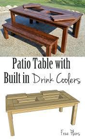 Easy Patio Diy by Patio Ideas Homemade Backyard Table Diy Outdoor Table With