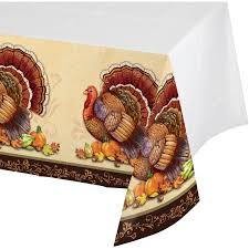 thanksgiving splendor plastic tablecloth walmart