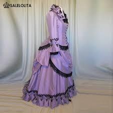 Ball Gown Halloween Costumes Cheap Halloween Ball Gowns Purple Aliexpress