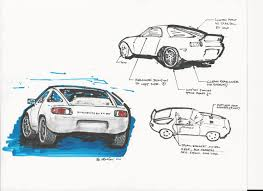 porsche mission e sketch 928 rs concept sketch rennlist porsche discussion forums