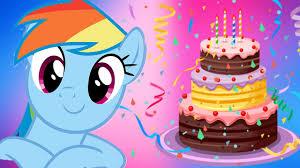 my pony birthday cake pony birthday cake my pony rainbow dash makes cake