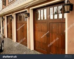 Three Car Garage Three Car Garage On Fancy Home Stock Photo 4787050 Shutterstock