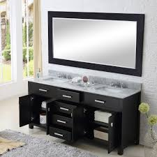 Bathroom Vanity With Drawers Water Creation Madison 60 Madison 60 Solid White Double Sink