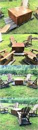 Patio Furniture Pallets by Patio Furniture Set Made With Wooden Pallets Wood Pallet Furniture