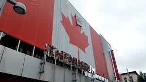 Giant Canadian Flag Giant Canadian Flag Vandalized At Themuseum In Kitchener U2013 The Cord