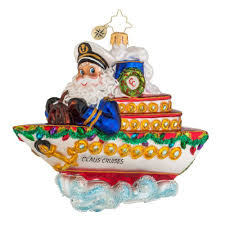 christopher radko ornaments 2016 radko cruise along with claus