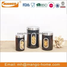 black kitchen canister sets source quality black kitchen canister
