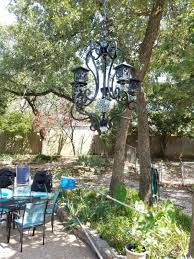 How To Make A Diy Chandelier How To Make A Diy Solar Light Chandelier Mixed Kreations