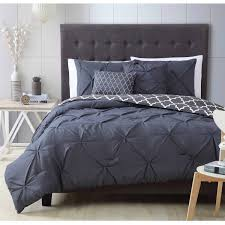 charcoal bedding madrid 5 piece bedding comforter set walmart com
