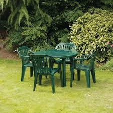 Green Plastic Patio Chairs Small Green Plastic Garden Table Cori Matt Garden