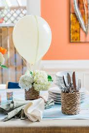 How To Make Home Decorations how to make a air balloon centerpiece 10 tips for easy