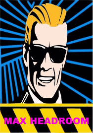 max headroom wallpaper max headroom famous commercial