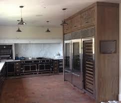 Built In Refrigerator Cabinets Custom Kitchen Cabinets Orange County Custom Kitchen Cabinets Los