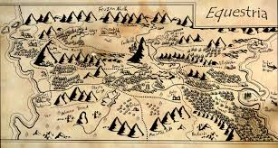 The Hobbit Map 66552 Artist Fimoman Edit Equestria Lord Of The Rings Map