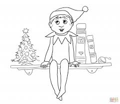 elf on the shelf printable coloring pages choicewigs com