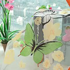 amazon com daxin butterfly panel scarf window curtain screens
