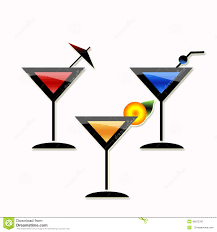 martini glasses vector cocktail martini party stock illustration image of glasses 49275787
