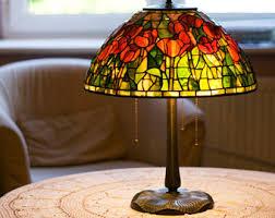 tiffany lamp tiffany wisteria bespoke glass stained glass